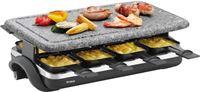 Trisa Hot Stone 8-Persoons Raclette Zwart/Grijs