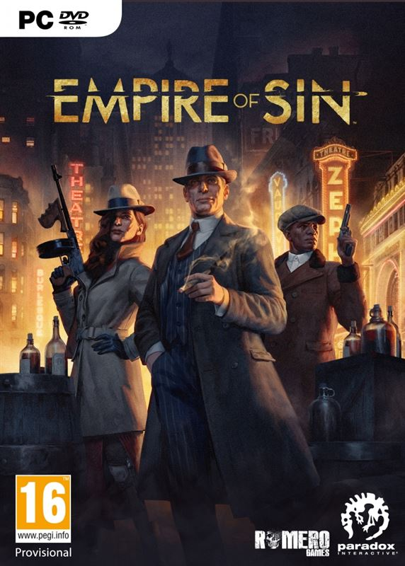 Paradox Interactive empire of sin day one edition PC