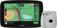 TomTom GO Essential 6 + Fuji Instax Camera