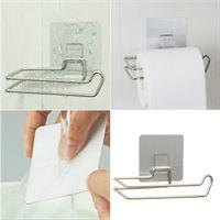 One Blend Toiletrolhouder Higline Zelfkevende wc-rolhouder Geen gaten in de muur Premium bevestiging Stainless Steel