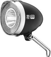 XLC koplamp Retro Switch led met standlicht Senso 20 Lux zwart