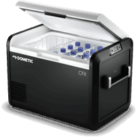 Dometic CFX3 55 compressor koelbox met ijsklontjes maker