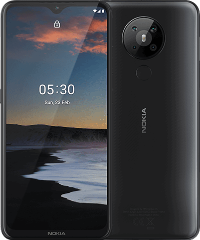 Nokia 5.3 64 GB / charcoal / (dualsim)