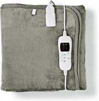 Nedis Elektrische deken - Nedis - 80 x 150 cm (9 warmtestanden, Timer, Onderdeken)