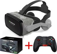 VR SHINECON 9 0 Virtual Reality 3D Bril 120° Met Controller