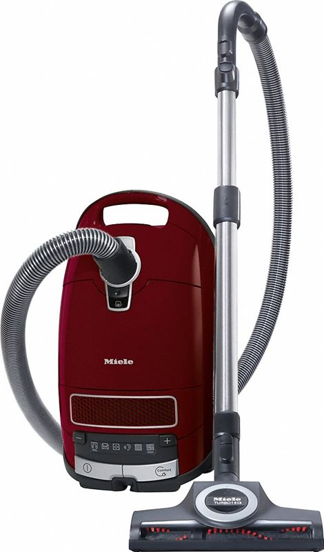 Miele Complete C3 Cat&Dog PowerLine - SGEF3 zwart, rood
