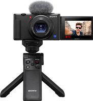 Sony vlog camera ZV-1 + GP-VPT2BT bluetooth vlogging grip