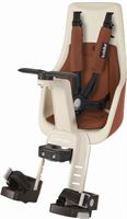 Bobike Exclusive Mini Plus Fietsstoeltje - Stuurbevestiging - Cinnamon Brown