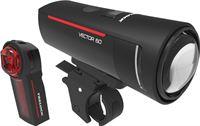 Trelock LS 600 I-GO Vector 60/LS 740 Vector Verlichtingsset
