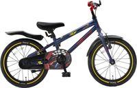 Popal Race Kinderfiets - 16 inch - Blauw