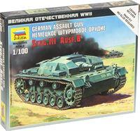 Zvezda - Sturmgeschütz Iii Ausf.b (Zve6155)