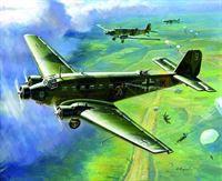 Zvezda - Junkers Ju-52 Transport Plane (Zve6139)
