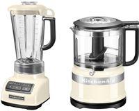 KitchenAid »5KSB1585EAC und Mini Zerkleinerer 5KFC3516« blender