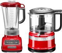 KitchenAid »5KSB1585EER und Mini Zerkleinerer 5KFC3516« blender