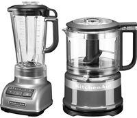 KitchenAid »5KSB1585ECU und Mini Zerkleinerer 5KFC3516« blender
