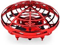Stuff Certified Mini RC UFO Drone Quadcopter Helikopter Speelgoed Rood