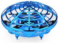 Stuff Certified Mini RC UFO Drone Quadcopter Helikopter Speelgoed Blauw