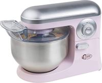 Bestron AKM1200SDP keukenmachine roze RVS inclusief accesoires