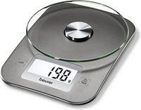 Beurer KS26 - Keukenweegschaal - 5 kg - incl batterijen - Zilver