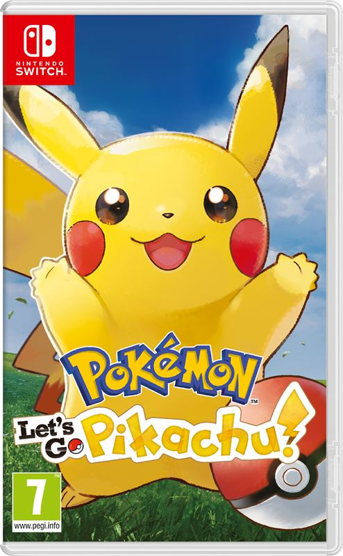 Nintendo Pokemon: Let's Go, Pikachu! Nintendo Switch