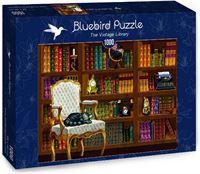 Bluebird Puzzle The Vintage Library Puzzel (1000 stukjes)