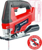 Einhell TC-JS 18 Li Solo 18V Li-Ion accu Decoupeerzaag body - D-greep