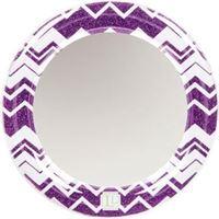 LockerLookz mirror purple chevron