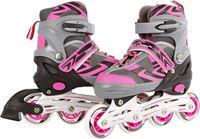 Street Runner Inline skates: roze/grijs maat 31/34
