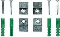 Glasdiscount Spiegelklemmen om te clippen maximale glasdikte 6 mm