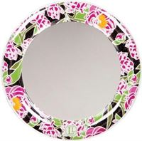 LockerLookz mirror pink peony