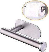 Home Basics Zelfklevend Toiletrolhouder RVS Zonder Boren Toiletpapierhouder RVS Badkamer accessoires