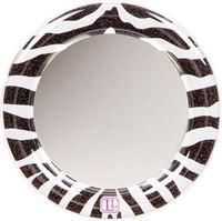 LockerLookz mirror black/white zebra