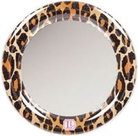 LockerLookz mirror leopard print