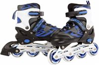 Street Runner Inline skates: blauw/zwart maat 31/34