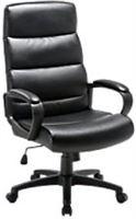 niceday Verstelbare ergonomische bureaustoel met armleuning Malaga Zwart