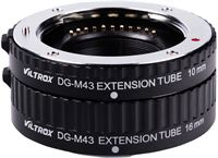Viltrox DG-M43 Automatic Extension Tube Set voor Micro Four Thirds