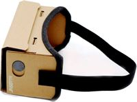 JINSERTA Karton VR Virtual Reality Box 3D Bril voor Smartphones
