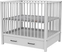 Europe Baby Robin II Box Met Lade Mat Wit