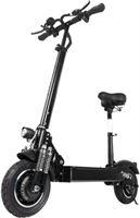 Janobike T10 Elektrische Off-Road Smart E Step Scooter Met Zitje - 2000W - 23 4 Ah Batterij - 11 - Zwart