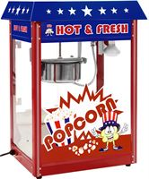 Royal Catering Popcornmachine - Amerikaans design