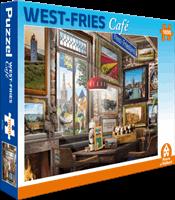 House of Holland West Fries Café Puzzel (1000 stukjes)
