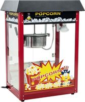 Royal Catering Popcornmachine - Zwart dak