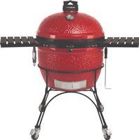 Kamado Joe - big joe ii houtskoolbarbecue met onderstel en zijtafels