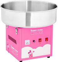 Royal Catering Suikerspinmachine - 52 cm - 1.200 W - roze