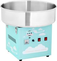 Royal Catering Suikerspinmachine - 52 cm - 1.200 W - turkoois