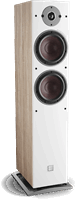 DALI Oberon 7 C Vloerstaande Speaker Light Oak
