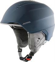 Alpina Unisex - volwassenen GRAND LAVALAN skihelm, ink-grijs mat, 54-57