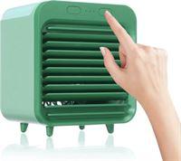 Stuff Certified Draagbare Airconditioner - Water Koeling - Mini Ventilator/Luchtkoeler Groen