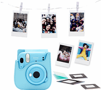 Fujifilm INSTAX MINI 11 SKY-BLUE BUNDLE