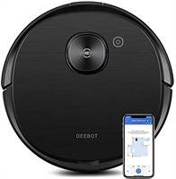 ECOVACS Deebot Ozmo T8 AIVI zuig- en dweilrobot – 2-in-1 stofzuigrobot met actieve wisfunctie, intelligente navigatie & slimme objectherkenning – met Google Home, Alexa & App-besturing
